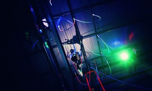 Bodies in Motion: Cosmic Ropes Course or Ninja Warrior Experience for Two or Four at Bodies in Motion (Up to 60% Off)