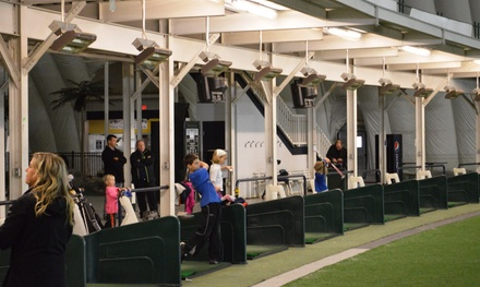 $15 for Mini-Golf for Four and One Large Bucket of Range Balls at Family First Sports Park ($30 Value)