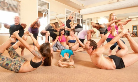 $32 for One Month of Unlimited Classes at Bikram Yoga Tempe ($150 Value)