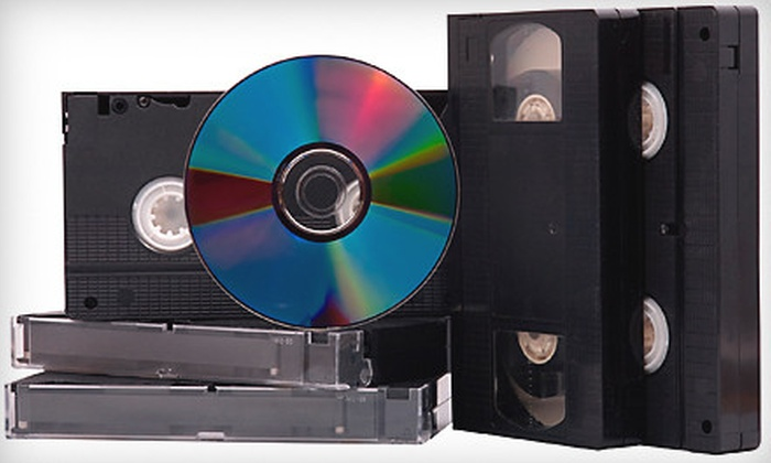 Analog Recall - Brentwood: Video-to-DVD Conversion for Two Tapes or Conversion for Four or Six Tapes with Backups at Analog Recall (Up to 61% Off)