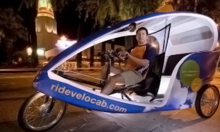 Covered-Bicycle  Pub Crawl, Wine Crawl, or Sacramento History Tour for Two from Velocab (Up to 61% Off)