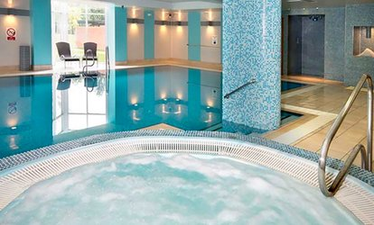 image for Spa Day Pass with Two Treatments, Drink and Pastry for One or Two at The Cheltenham Chase Hotel