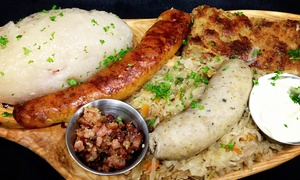 Old Vilnius Cafe: $12 for $25 Worth of Eastern European and American Cuisine, Valid Monday–Saturday at Old Vilnius Cafe