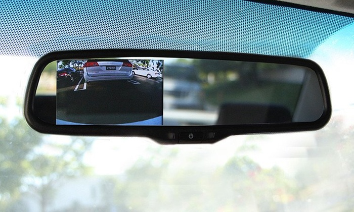 Auxiliary Input or Backup Camera Installation at Absolute Electronix (Up to 50% Off). Six Options Available.