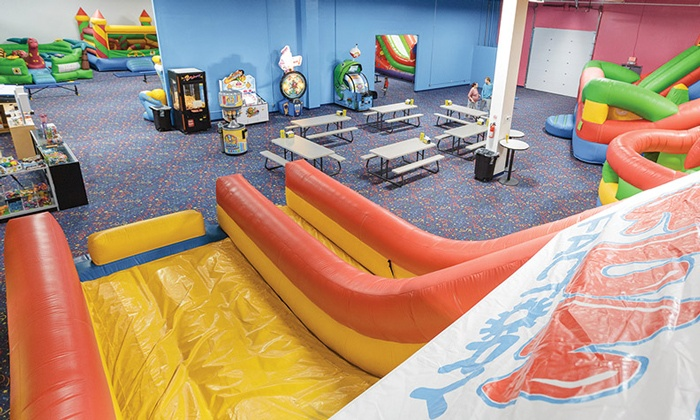 Jump N Play Noblesville - Noblesville: $29 for Five All-Day Bounce Passes at Jump N Play Noblesville ($50 Value)