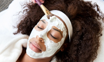 $45 for a Custom, Back, Teen, Revive, or Men's Facial at Four Elements Salon & Spa (Up to $85 Value)