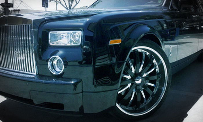 Long Beach Auto Detail - Belmont Shore: $25 Toward Auto Detailing