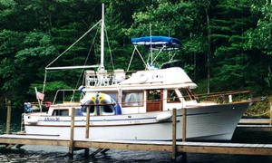 Indian Pipes Captained Charter Cruises: Two- or Four-Hour Lake George Charter Cruise from Indian Pipes Captained Charter Cruises (Up to 39% Off)