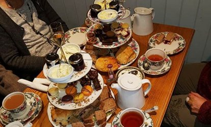 image for Choice of Cream, Luxury or Traditional Afternoon Tea for Two or Four at Nanny Marj's Tea Room (Up to 50% Off)