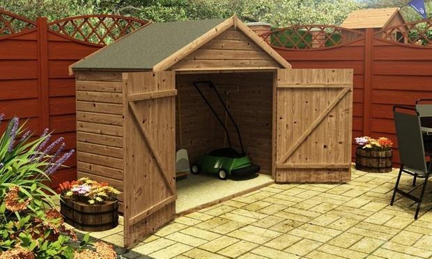 Bike Storage Shed & Garden Storage or Bike Sheds | Groupon Goods