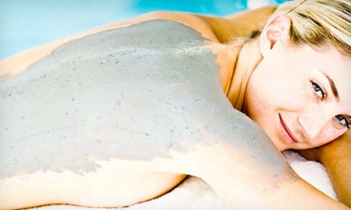 Sore No More Massage - Downers Grove: $69 for Spa Package with Ionic Foot Bath, Mud Body Treatment, Amethyst BioMat Treatment, and Massage at Sore No More Massage ($140 Value)