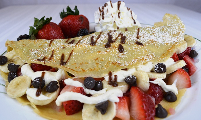 Crepes N Creams - Westlake Shopping Center: $9.50 for $16 Worth of Crepes and Ice Cream at Crepes N Creams