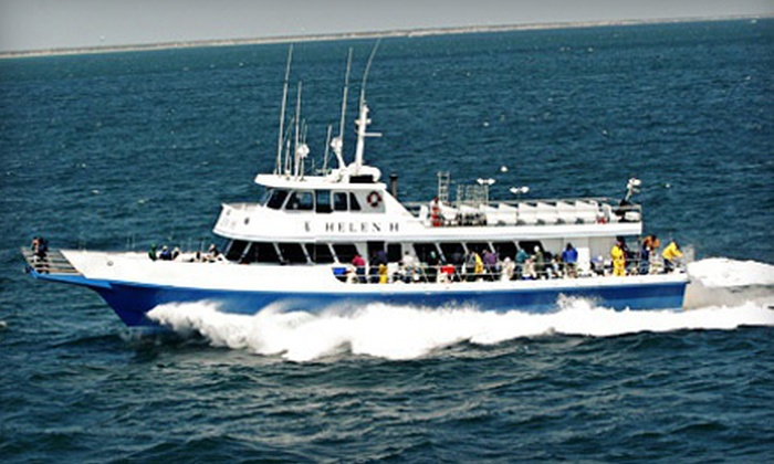 Helen H Fleet - Hyannis: $54 for a Four-Hour Sea-Bass- and Fluke-Fishing Trip for Two with Gear from Helen H Fleet in Hyannis ($88 Value)