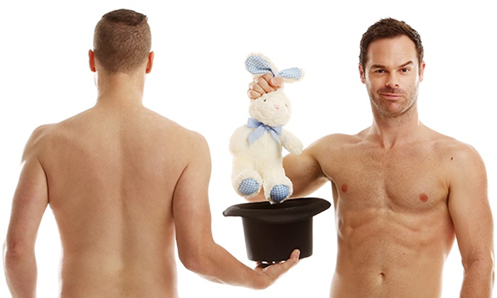 The Naked Magic Show  - Laugh Boston: The Naked Magic Show on October 21–25