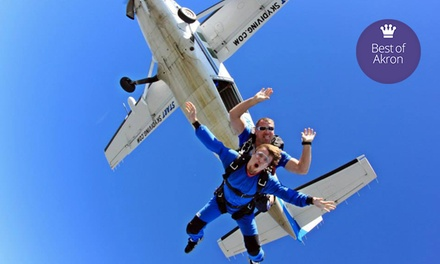 Tandem-Skydiving Jump for One or Two with Optional Video from Start Skydiving (Up to 54% Off)