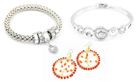 Sélection déstockage de bijoux de la marque Victorias Candy ornés de cristaux