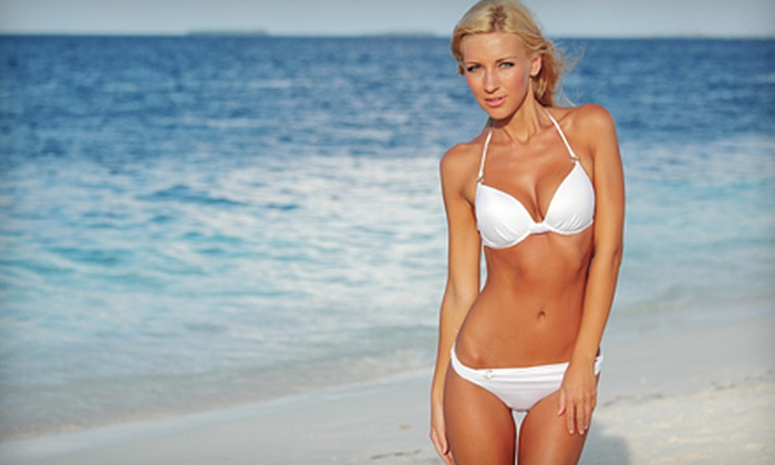 Moxi - Cow Hollow: One, Three, or Up to Five Spray Tans at Moxi (Up to 60% Off)