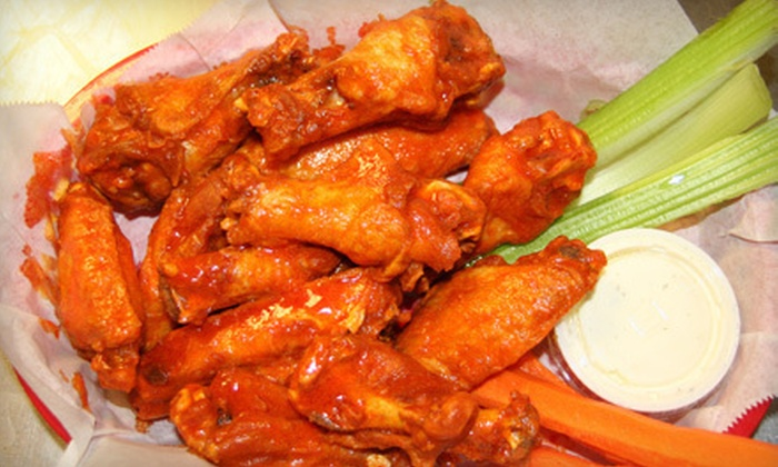 Draft House On The Reef - Chandler: Wings, Pub Food, and Drinks at Draft House On The Reef (Half Off). Two Options Available.