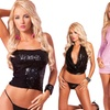 Pink Lipstick Sequin Lingerie Collection