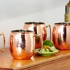 Set of 2 Old Dutch 16 Oz. Copper Moscow Mule Mugs