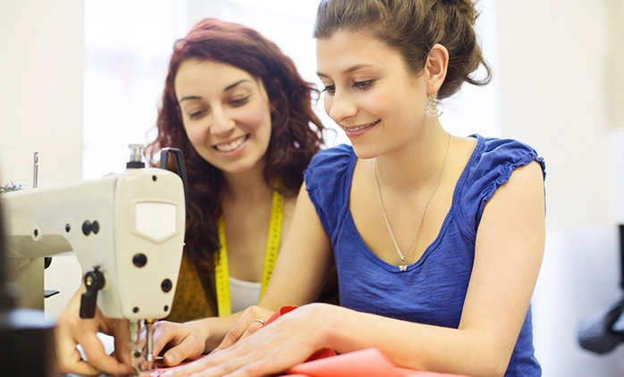 Three-Hour Introductory Sewing Workshop for One (£21) or Two (£39) at The Fashion Box (Up to 68% off)