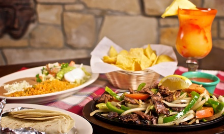 Mexican Food at Don Pancho's Mexican Restaurant (Up to 50% Off). Two Options Available.