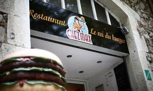 Chez Max: 2 burgers et 2 cafés gourmands dès 22,50 € au restaurant Chez Max Valbonne