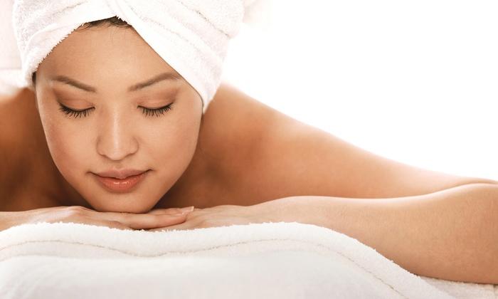 Unique Salon & Spa - East Massapequa: 55-Minute Massage with Optional 25-Minute Express Facial at Unique Salon & Spa (Up to 54% Off)
