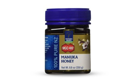 Manuka Honey 100% Pure New Zealand Honey MGO 400+ (8.8 Oz.)