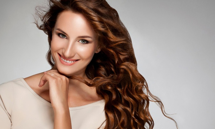 Melz Salon - Lawrenceville: Blowout with Optional Haircut, Color, and Wash or Brazilian Blowout at Melz Salon (60% Off)
