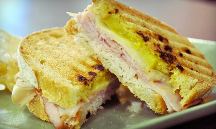 Penn Station Deli and Grill - Dunnellon: Continental Lunch or Dinner Fare and Drinks at Penn Station Deli and Grill in Dunnellon (Up to 53% Off)