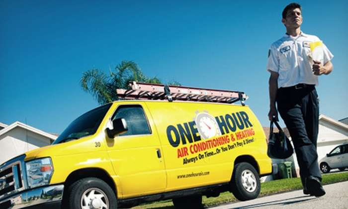 One Hour Heating & Air Conditioning - Laurinburg: $49 for a Heating System Tune-Up and Cleaning Service from One Hour Heating & Air Conditioning ($129 Value)