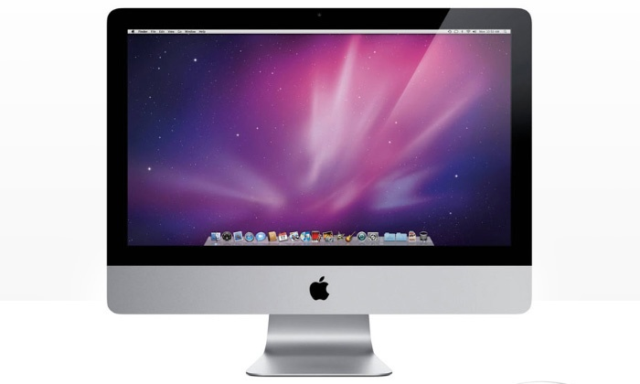 apple imac ordinateur de bureau 21 5 reconditionn groupon shopping. Black Bedroom Furniture Sets. Home Design Ideas