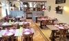 Santa Fe - Thiverny: Entrée, plat et dessert pour 2 personnes au choix à 29,90€ au restaurant Santa Fe