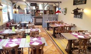 Santa Fe: Entrée, plat et dessert pour 2 personnes au choix à 29,90€ au restaurant Santa Fe