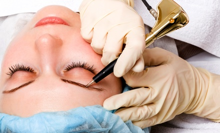 Permanent Makeup for the Brows, Lips, and Eyelids at Permanent Make Up by Jina (Up to 70% Off). Five Options.