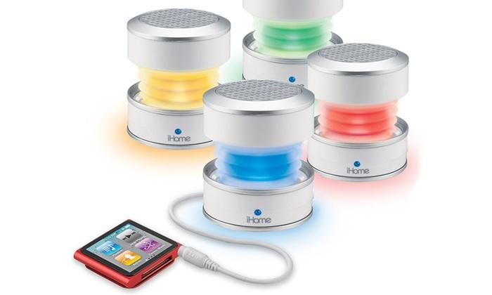 iHome IHM59 Color Changing Speaker(Manufacturer Refurbished)