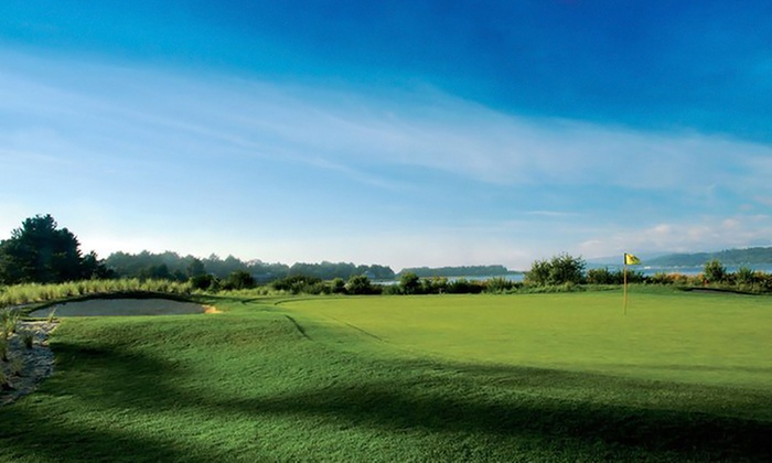 Salishan Spa & Golf Resort - Coastal Oregon: 18-Hole Round of Golf for Two or Four with Cart Rental at Salishan Spa & Golf Resort (Up to Half Off)