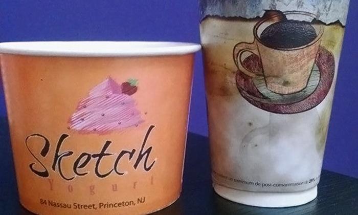Sketch Yogurt - Princeton: Two or Four Groupons, Each Good for $8 Worth of Frozen Yogurt at Sketch Yogurt (50% Off)