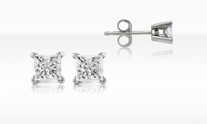 1/4 ctw Certified Diamond Stud Earrings in 14K Gold: $299.99 for 1/4 ctw Certified Diamond Stud Earrings in 14K Gold ($699.99 List Price). Free Shipping and Returns.