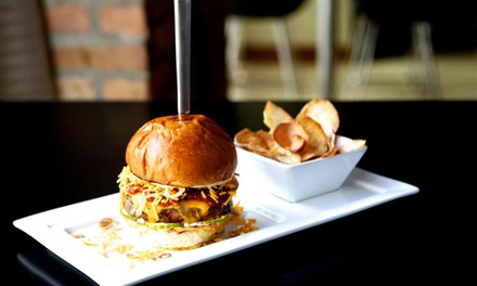 Comfort Food Meal for 2 or 4, Brunch for 2, or Bottle Service and Food for Up to 12 at The Grid (Up to 50% Off)