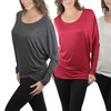 Women's Plus Sized Winged Sleeve Top