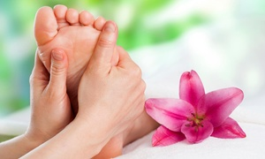 Dharani Healing Arts: Up to 54% Off Ionic Foot Bath with Reflex Massage at Dharani Healing Arts
