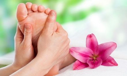 Up to 54% Off Ionic Foot Bath with Reflex Massage at Dharani Healing Arts