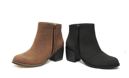 Michael Antonio Macyn Ankle Boots in Black or Chocolate