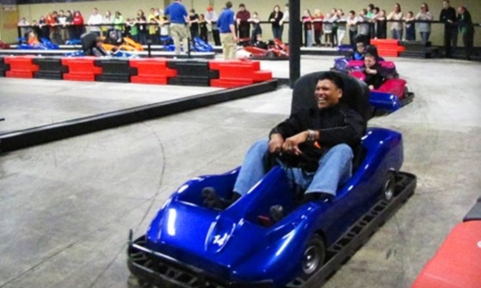 The Web Extreme Entertainment - West Chester : Family-Fun Package for Four or Eight at The Web Extreme Entertainment (Up to 51% Off)