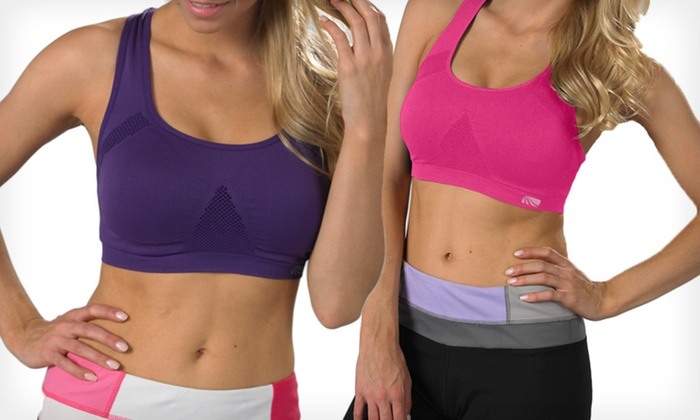 Marika Yoga Capris and Bras: Marika Seamless Bra or Yoga Capri Leggings (Up to 71% Off). Multiple Options Available. Free Shipping.