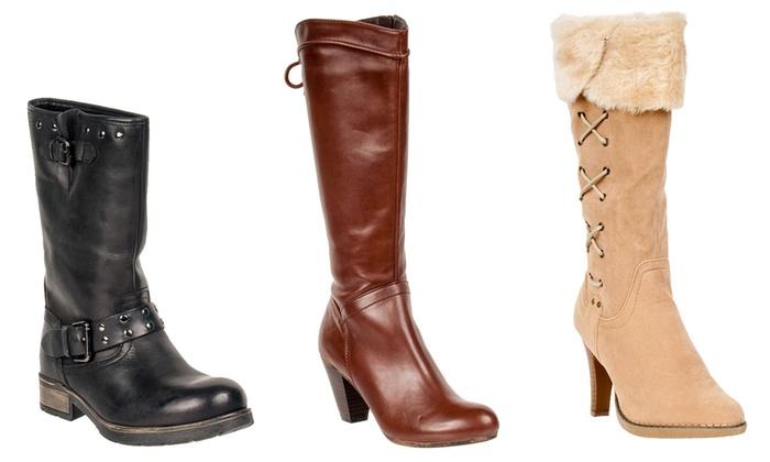 Bottes 100% Cuir | Groupon Shopping