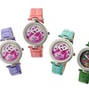 Sophie and Freda Crocodile-Embossed Leather-Strap Women's Watches