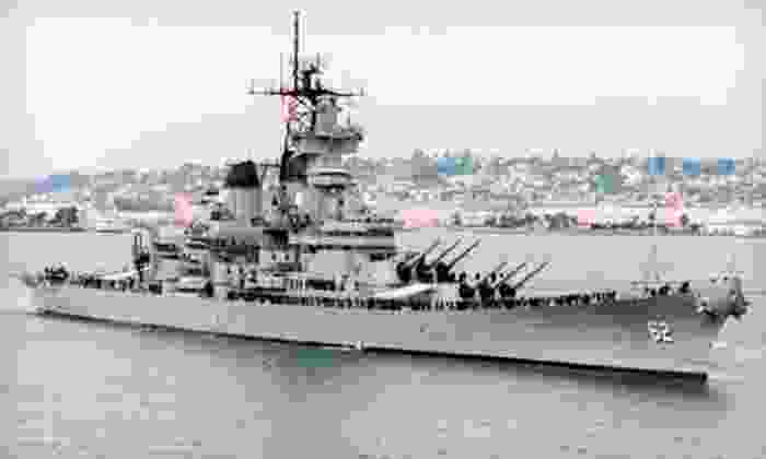 Battleship New Jersey - Delaware River: Battleship New Jersey Visit for Two or Four (Up to 51% Off)